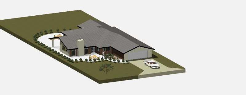 Murray Weatherly Architectural Design for a New Executive Home - Gaskill